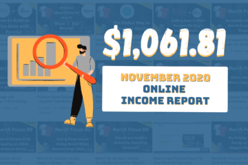 Online Income Report - November 2020